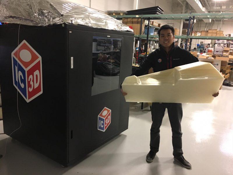 Large Format 3D Printing in Columbus, Ohio at IC3D Printers