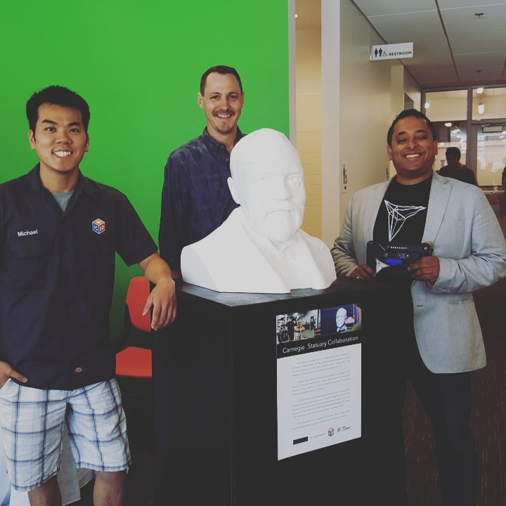 IC3D Donates 3D Print To Columbus Library Grand Reopening
