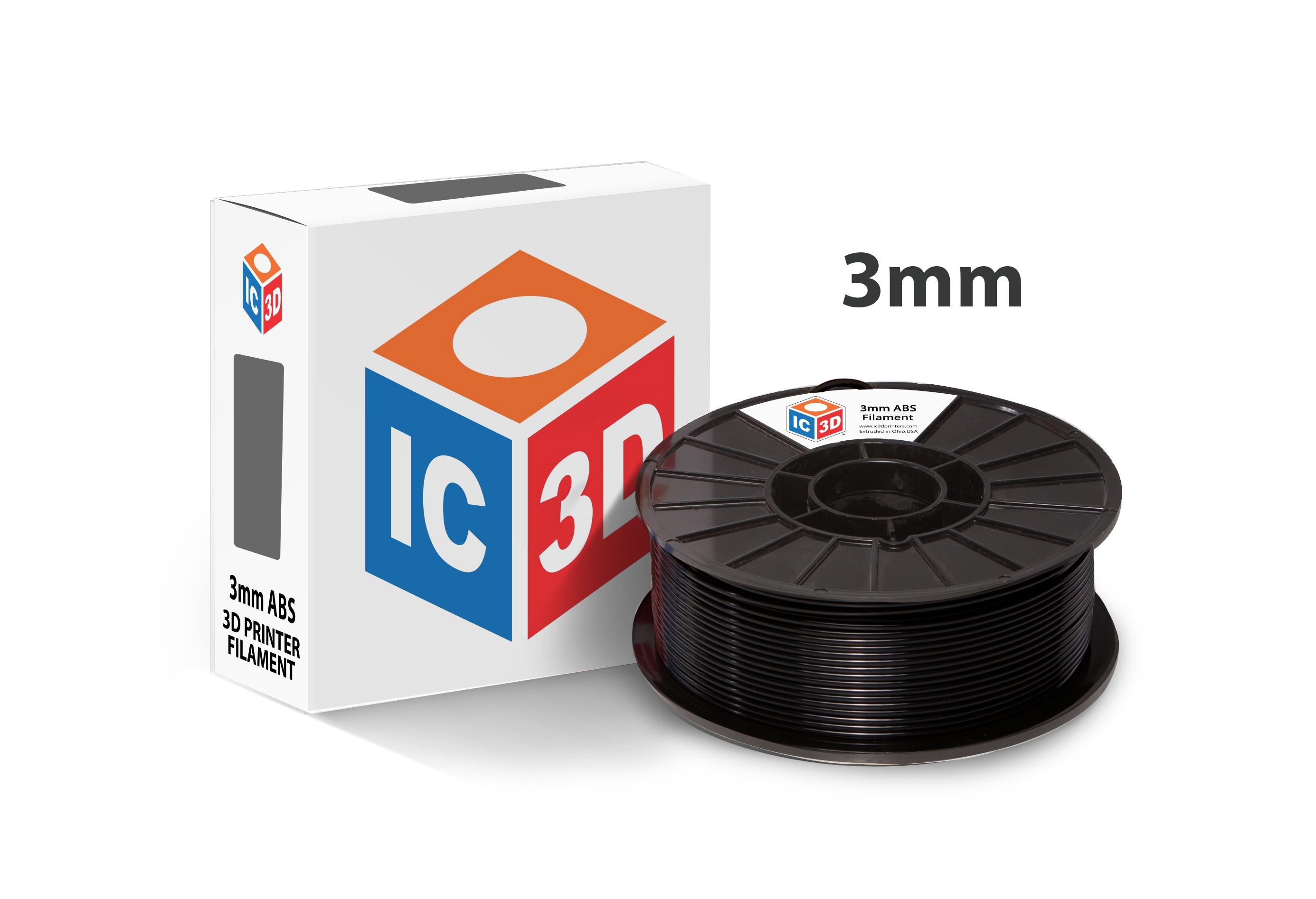 3d Printer Filament >> Ic3d Abs 3d Printer Filament Ic3d Printers