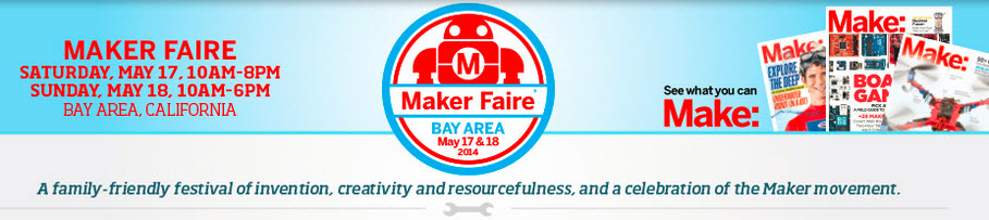 IC3D Team to attend the Bay Area Maker Faire