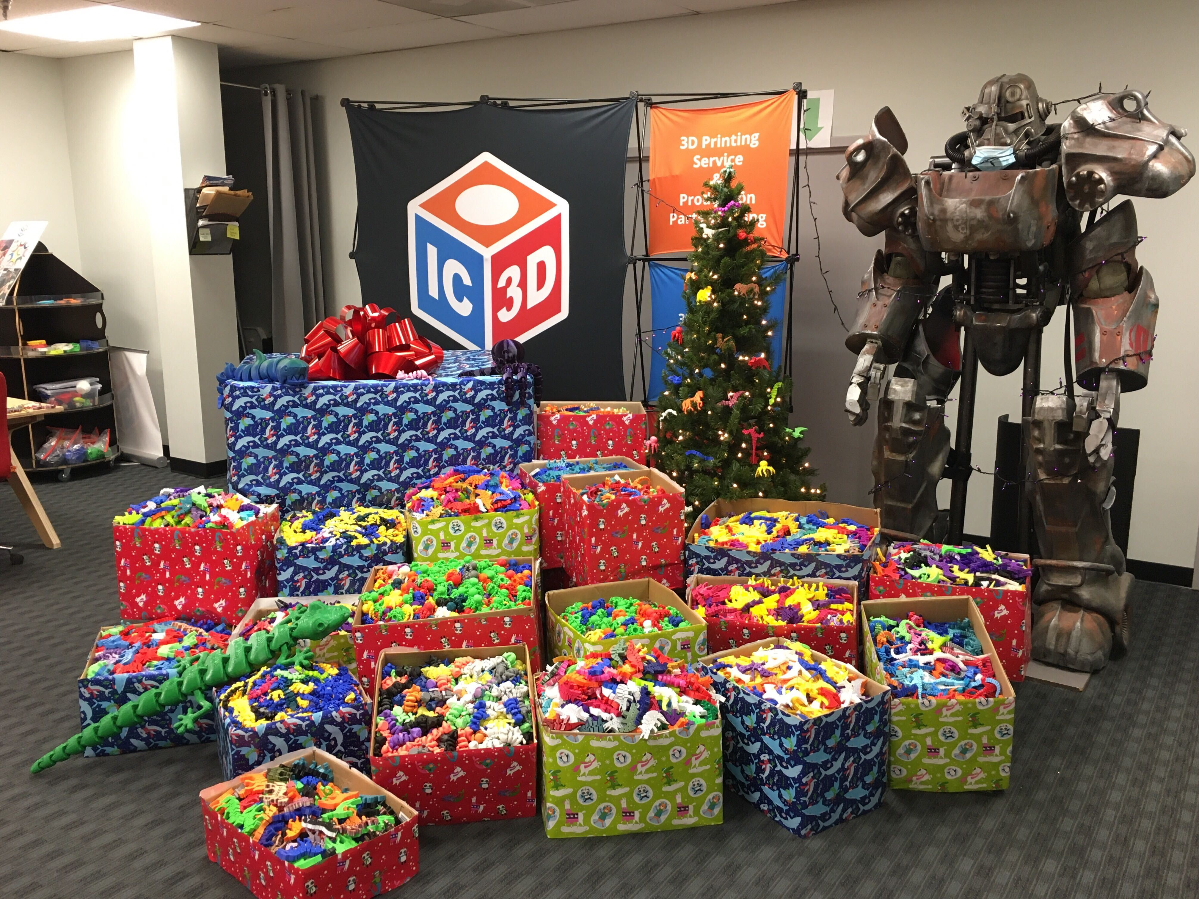 Third Annual 3D Printed Toys for Tots Campaign